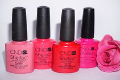💅🏼🌸☀️ With all this lovely weather this weekend, I can't wait to start using my bright summer colours.  #brightsummernails #summernails #nailssummer #springnails #pinknails #hotpinknails #nailinspo #shellacmanicure #shellacnails #cndnails #mobilenailtech #blueskys #brightskys