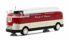 Diecast Auto World - Greenlight 1/64 Scale Hobby Exclusive General Motors GM 1940 Futurliner Parade Of Progress 29832, $29.99 (http://stores.diecastautoworld.com/products/greenlight-1-64-scale-hobby-exclusive-general-motors-gm-1940-futurliner-parade-of-progress-29832.html/)