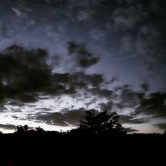 #lackoj #twilight #tonight #view from my #window #trees #trencin #juh #slovakia
