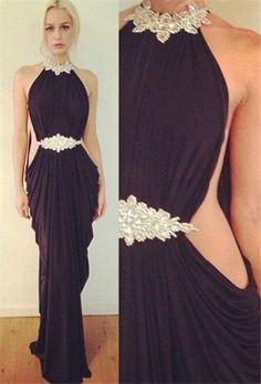 Sexy Black 2015 Evening Dress, 2015 Party Dress #suzhoudress.com