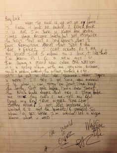 pin by divina razo on pac greatest rapper of all time pac pac  tupac shakur penned letter