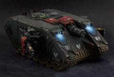 Land Raider Achilles / Redeemer kitbash, Blood Angels Death Company stylee... - Forum - DakkaDakka   I see lead people.