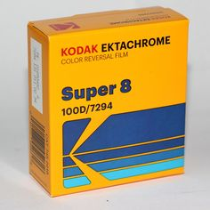 Fresh, color positive Kodak Ektachrome Super 8 film now available in a 50 ft Super 8 Cartridge! The perfect film for projecting onto a screen (or scanning to a digital file for digital presentation) Film price does not include processing or transfer. Includes: 50 foot cartridge of super 8 film KODAK EKTACHROME 100D Col Music Film, Film Movie, Kodak Super 8, Super 8 Film, 8mm Film, Home Movies, Video Film, Vintage Movies, Toys For Boys
