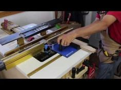 Rockler Rail Coping Sled | Rockler Woodworking and Hardware Shaker Style Cabinet Doors, Rockler Woodworking, Woodworking Ideas, Router Jig, Router Table, Tools For Sale, Sled, Hand Tools, Hardware