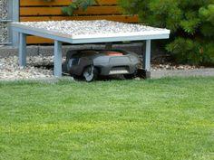 Garage für den Automower 305 selbst bauen - oder kaufen