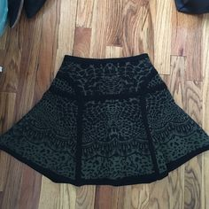 Diane Von Furstenberg bandage A line skirt Bandage a line skirt. Very flattering and great for going out or work! Never worn. Diane von Furstenberg Skirts Mini