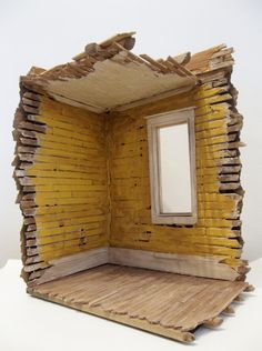 "I'm not sure what I'd use this for, but I really like this! It's a miniature ""house ruin,"" by gregorypaul."