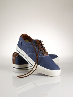 Vaughn Canvas sneaker ralph lauren $59