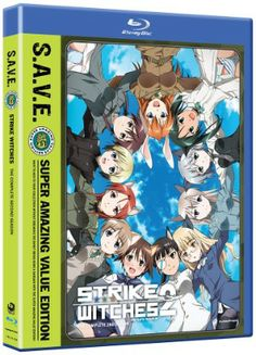 Strike Witches season on Blu-ray! Yeh for talking airplanes! Cherami Leigh, Strike Witches, Anime Dvd, Instant Video, Episode Online, Dvd Blu Ray, Holiday Wishes, Season 2, Second Season