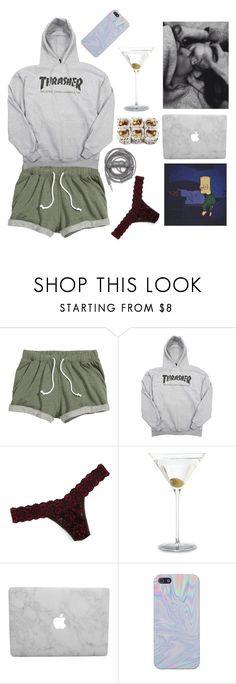 """""""I can't go on without you"""" by suicideloveletter ❤ liked on Polyvore featuring Hanky Panky and Urbanears"""