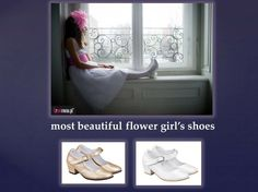 Flower girls love them