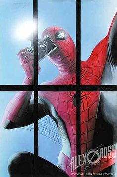 Alex Ross's Spiderman