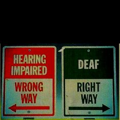 Image result for deaf versus disability ?