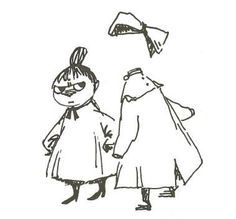 """The Invisible Child"" -- from Tales from Moominvalley: by Tove Jansson"