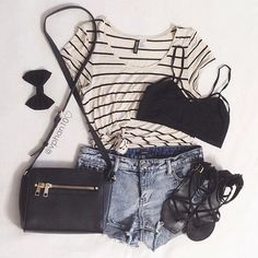 Cute Teenage Outfits at http://dailynewfashions.blogspot.com/