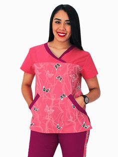 Línea Essential | Uniformes Médicos Scrubs Outfit, Scrubs Uniform, Blouse Batik, Big Men Fashion, Medical Scrubs, Nursing Clothes, Scrub Tops, Work Wear, Sewing Patterns
