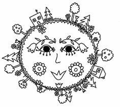 Výsledek obrázku pro den země omalovánky Earth Day Images, Earth Day Activities, Paper Birds, Clipart Images, Art Inspo, Coloring Pages, Origami, Doodles, Clip Art