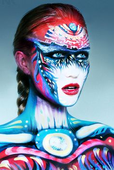 24 Mind-Blowing Body Painting Artworks from World Body Painting Festival. Read full article: http://webneel.com/webneel/blog/24-beautiful-creative-body-painting-art-works-your-inspiration | more http://webneel.com/body-painting | Follow us www.pinterest.com/webneel