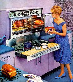 Kitsch and Retro Retro Vintage, Deco Retro, Looks Vintage, Vintage Kitchen, Vintage Decor, Kitchen Retro, Vintage Stuff, Home Design, Design Room