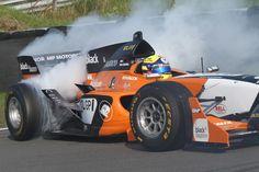 Autosportvision.nl: Coronel geniet van demo tijdens Masters