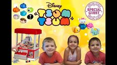 Tsum Tsum Thursday on a Wednesday with Special Guests & The Candy Claw M...
