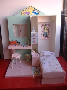 Diy Dollhouse, Dollhouse Furniture, Dollhouse Miniatures, Ava Doll, Dolls, Barbie Diorama, Barbie Fashionista, Barbie Collection, Cute Toys
