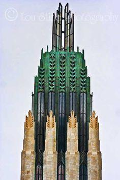 Boston Avenue Methodist Church | Flickr - Photo Sharing! Interiores Art Deco, Unique Architecture, Futuristic Architecture, Art Deco Buildings, Building Art, Amazing Buildings, Environment Concept Art, Art Deco Era, Art Deco Design