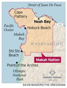 Makah tribe, Neah Bay welcome visitors to northwest tip of Washington's Olympic Peninsula Native American Projects, Native American History, American Indians, Beach Trip, Vacation Trips, Seattle Vacation, Beach Travel, Vacations, Neah Bay