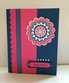 First Post on SCS! by RockChalkJackie - Cards and Paper Crafts at Splitcoaststampers