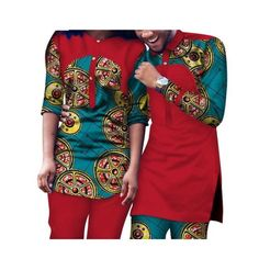 Dashiki African Clothing Matching Style For Couple Men and Women - African fashion - Robes Chic Couples African Outfits, African Dresses Men, African Attire For Men, African Shirts, Latest African Fashion Dresses, African Wear, African Style, African Fashion Designers, African Inspired Fashion