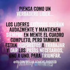 12 Best Frases Motivacionales Para Lideres Images Office