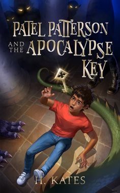 """Book Cover Design for """"Patel Patterson and the Apocalypse Key"""". If you would like to commission us for your book cover, please visit our website #bookcover #bookcoverdesign #bookcoverart #ebookcovers #ebookcover #bookcoverartwork #ebookdesign #bookcoverdesigner #selfpublish #ebookart #ebookcoverdesign #amwriting #ebookcoverdesigner #indiepub #bookporn #selfpub #selfpublishing #writer #writers #communityofwriters #bookcovers #bookcoverartist #ebookdesign #indieauthor"""
