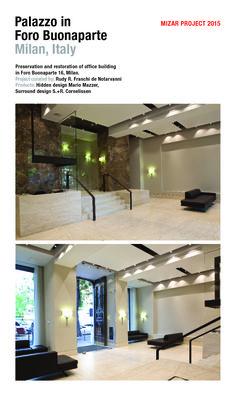 Mizar Projects 2015 - Palazzo in Foro Bonaparte - Milan, Italy