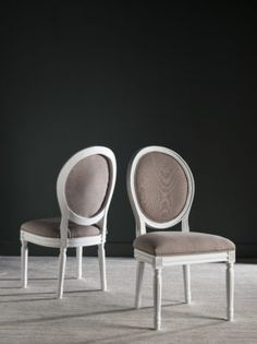 Holloway Oval Side Chair (Set Of 2) - Safavieh