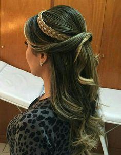 Hairdo Penteado Longo Solto