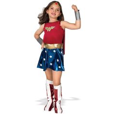 Wonder Woman Child Deluxe Costume