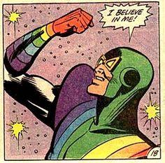 """Comic Hero's Say..""""believe in me!""""  #comic #vintage"""