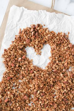 Simple chai spiced granola has all of the flavors of fall - use this granola to top your smoothies, yogurt, or eat as cereal!   hungrybynature.com