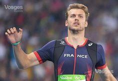 Christophe Lemaitre lors de la demi-finale du 100m des Jeux de Rio. Photo AFP