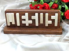 Jesus Optical Illusion Jesus Stand Wood by OakHillWoodCreations Jesus Optical Illusion, Jesus Illusion, Optical Illusions, Summer Camp Art, Red Oak Wood, Name Plaques, Scroll Saw Patterns, Wood Creations, Wooden Blocks