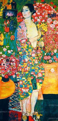 Klimt Gustav (1862-1918) | La Danzatrice, (1916/1918)