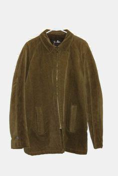 58f7c2e6864 Vintage mens corduroy coat 1960s by Sir Jac Brown by RayMels Vintage Coat