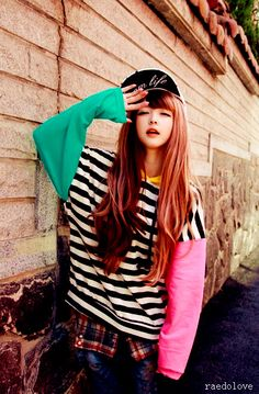 ulzzang fashion Ulzzang, Ulzzang girl, girl, Cute, Korean, kfashion, pretty, fashion ^^