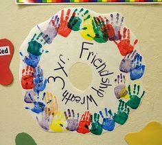 "First week(s) of preschool activity. Great ""classtivity"" to be done after a discussion of the classroom rules. The students leave their hand print as a promise to support and show kindness towards their new friends. Preschool Friendship, Friendship Theme, Friendship Activities, Preschool Classroom, Preschool Activities, Classroom Ideas, Preschool Projects, Kindergarten Crafts, Classroom Rules"