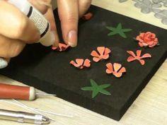 Making Poppies using the Britannia Multi Rose Die - YouTube