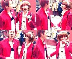 Super Junior's Heechul and Puff Kuo Enjoy Garosugil Date