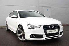 Ibis White Metallic Audi A5 Sportback