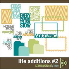 Kerri Bradford life additions #2