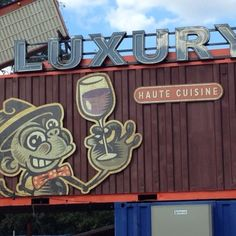 """Fancy a a pint in an ex-church-turned-brewery? How about dinner in a """"busteraunt""""? These are just a couple of the quirky, recycled restaurants popping up. Wow Restaurant, Spurs Game, Places To Travel, Places To Go, Visual And Performing Arts, King William, River Walk, San Antonio, Brewery"""
