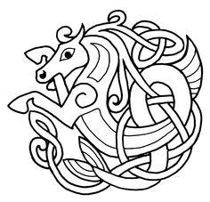Horse circle knot